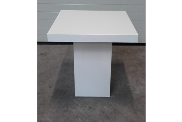 lounge tafel vierkant laag wit  partyverhuur brabant, Meubels Ideeën