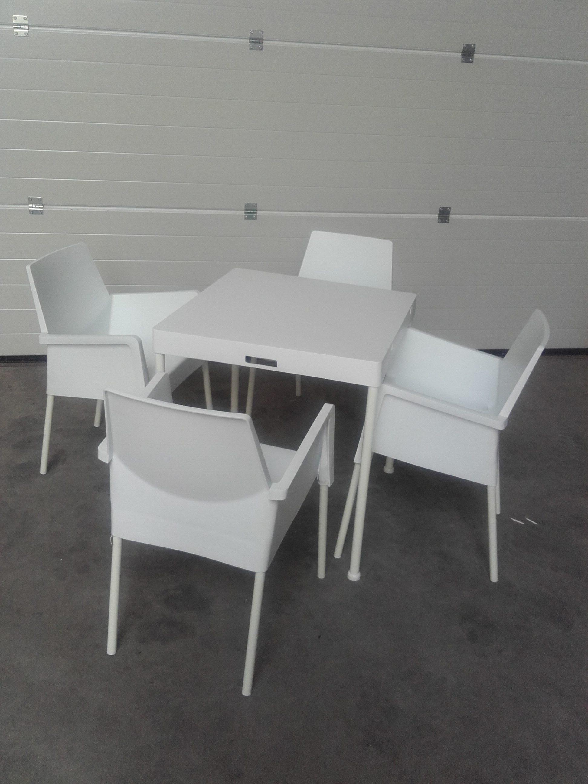 terrasset tuinset lounge wit