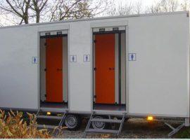 Toiletwagen luxe (per 2 dagen)