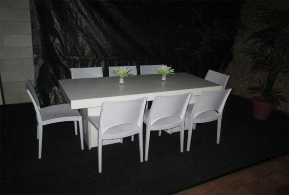 Luxe kunststof stoel 3