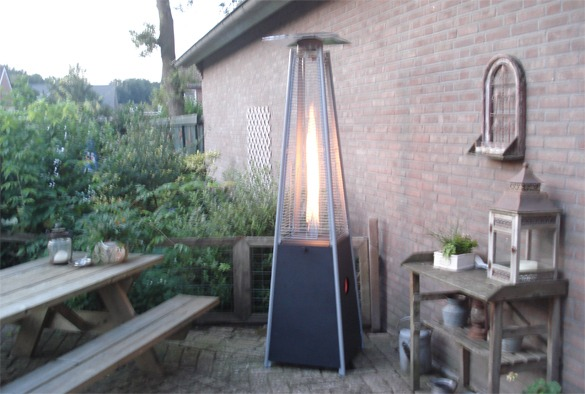 Patio flame heater 3