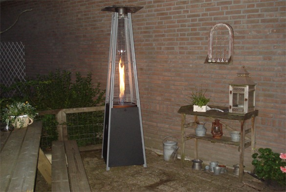 Patio flame heater 2