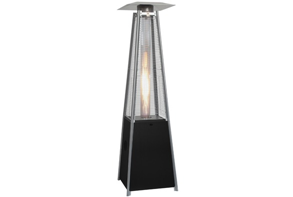 Patio flame heater