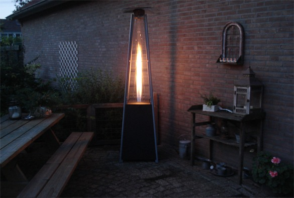 Patio flame heater 4