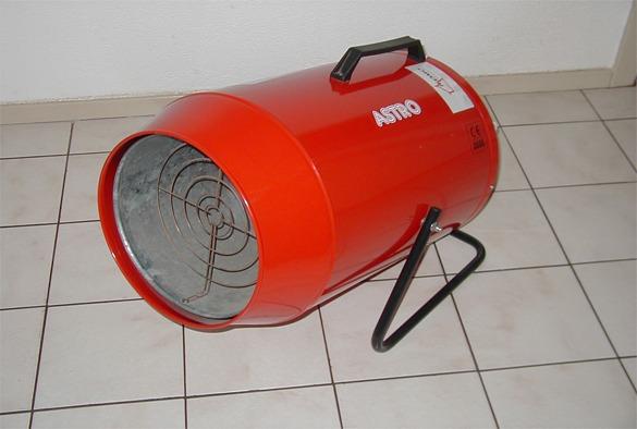 Heteluchtkanon gas 8500 – 50.000 k