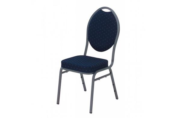 Gestoffeerde stoel stack chair