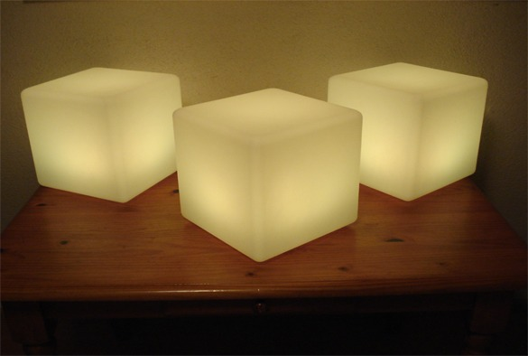 led verlichting cubes 6