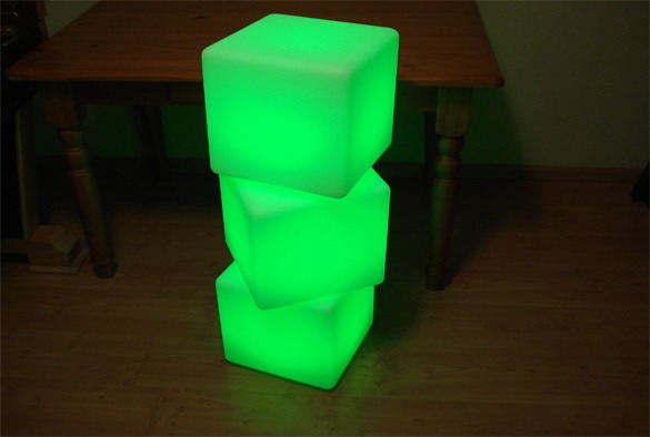 led verlichting cubes 3