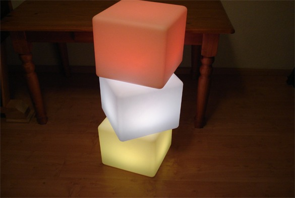 led verlichting cubes 7