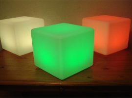 led verlichting cubes