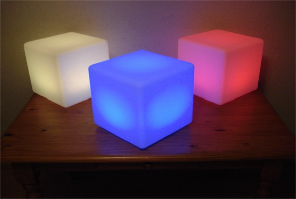 led verlichting cubes 10