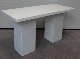 Statafel lounge rechthoekig wit