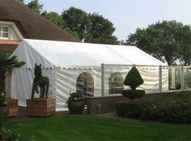 Partytent 4 mtr.