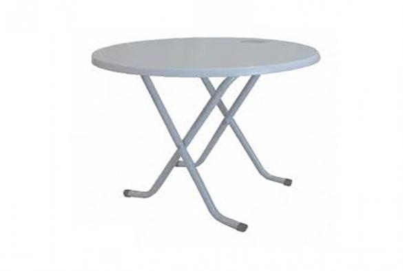 Terrastafel wit opklapbaar