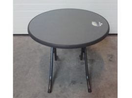 Terrastafel zwart opklapbaar