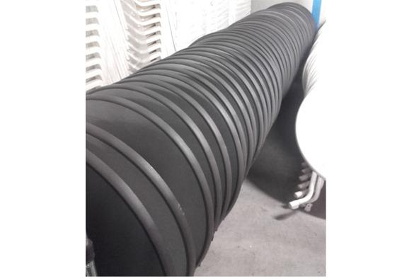 Terrastafel zwart opklapbaar 4