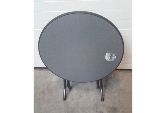 Terrastafel zwart opklapbaar 2