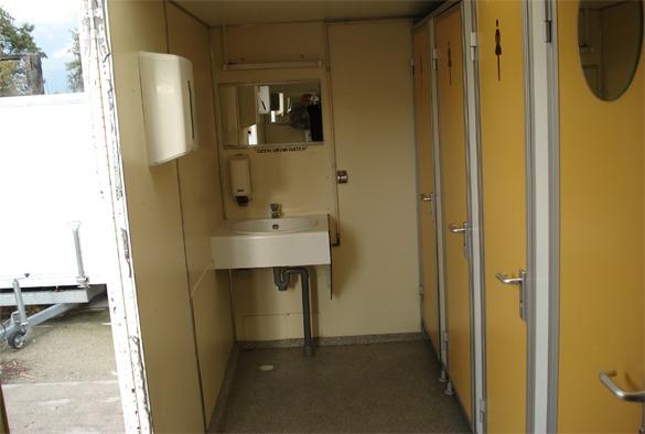 Toiletwagen standaard (per 2 dagen) 2