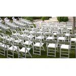 Wedding chair trouwstoel opklapbaar wit 3