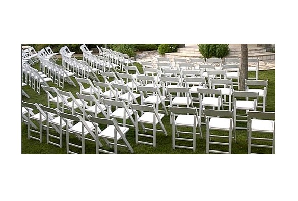 Wedding chair trouwstoel opklapbaar wit 3