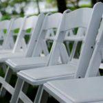 Wedding chair trouwstoel opklapbaar wit 2