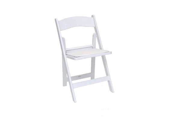Wedding chair trouwstoel opklapbaar wit 6