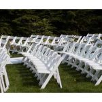 Wedding chair trouwstoel opklapbaar wit 4