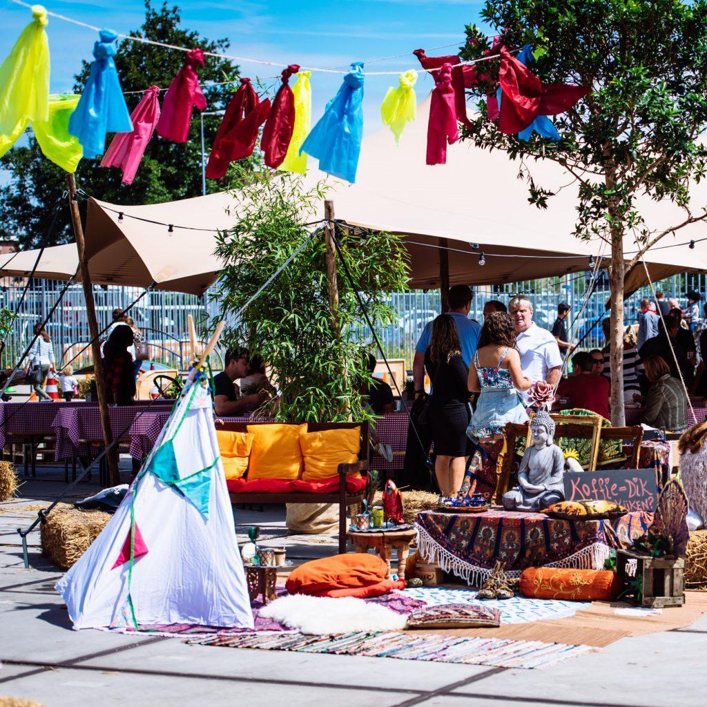 Evenement organiseren - ICOMO Partyverhuur